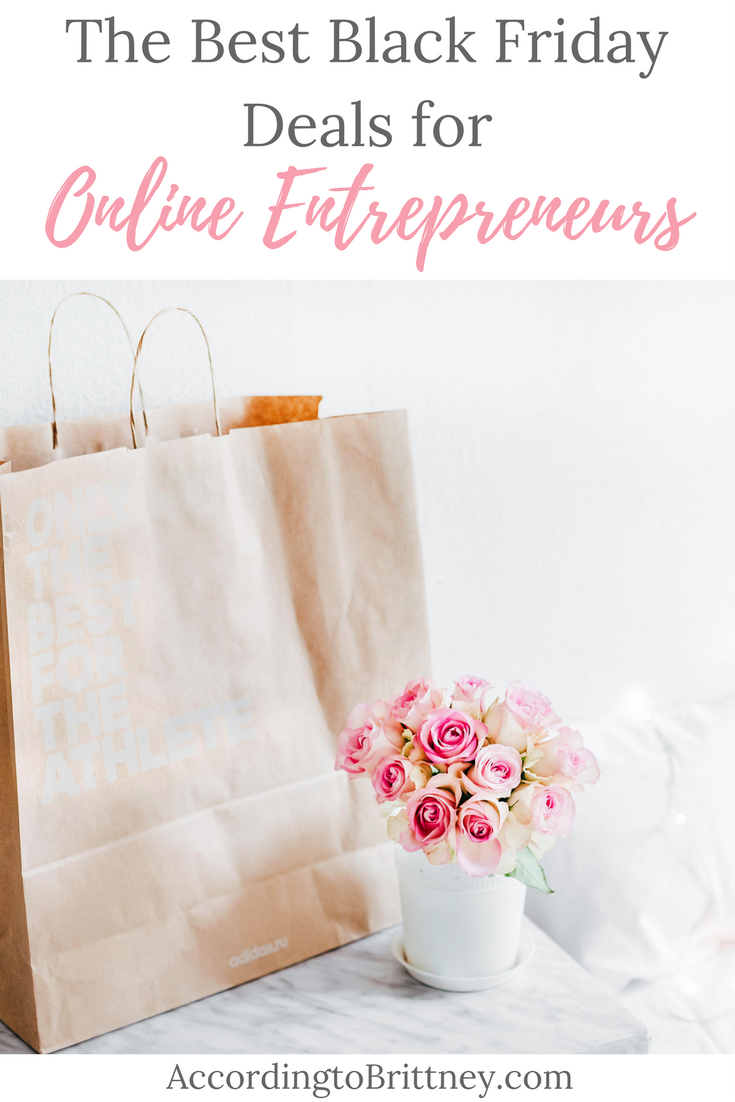 black friday deals online entrepreneurs
