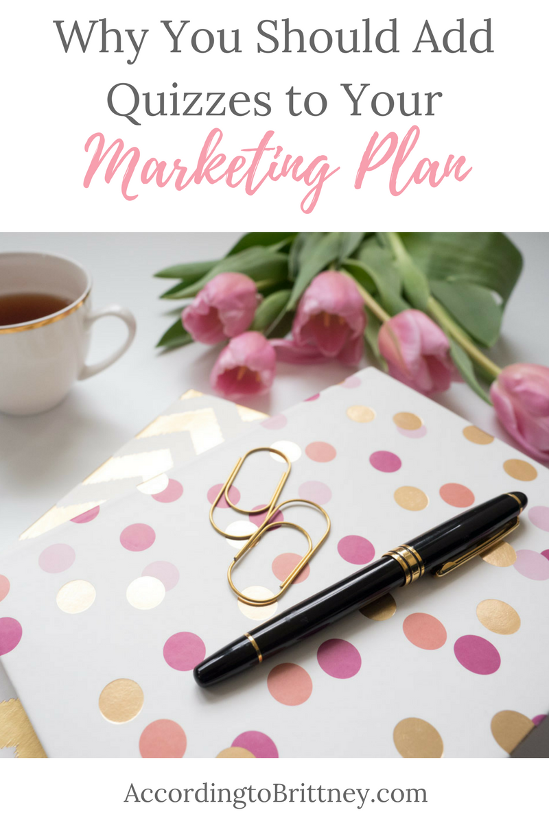 why you should add quizzes to your marketing plan