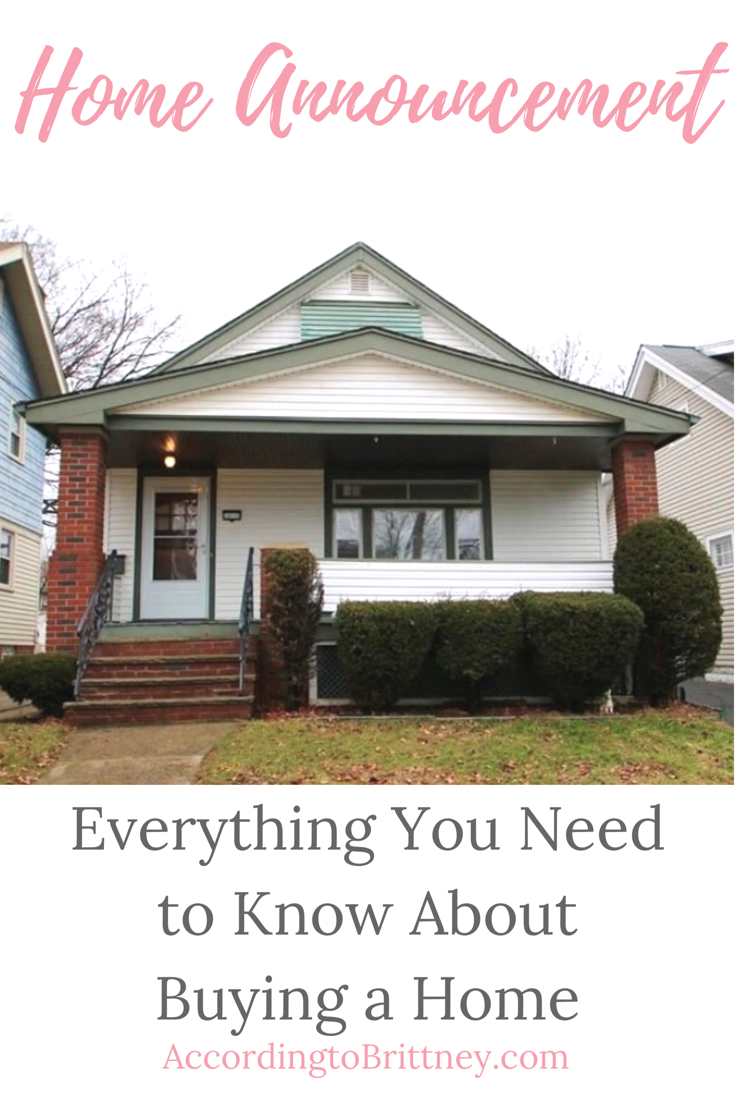Home Announcement: Everything You Need to Know About Buying a Home