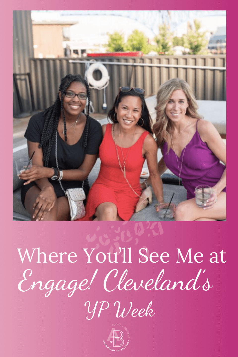Where You'll See Me at Engage! Cleveland's YP Week